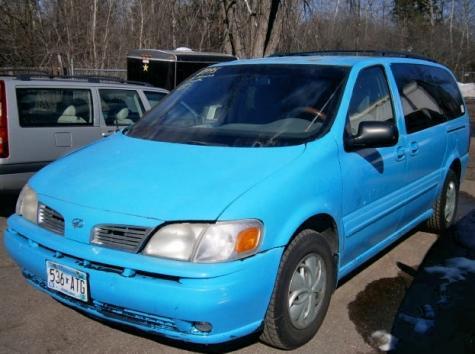 Minivan $1000 or Less Minneapolis MN - Oldsmobile Silhouette '02 - Autopten.com