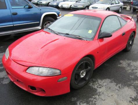 Cheap Sports Cars Under 10000 >> Mitsubishi Eclipse RS - Cheap Sports Car For Sale Under $3000 (Red) - Autopten.com