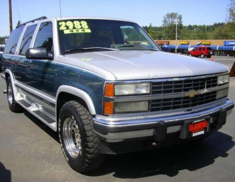Bickmore Auto Sales >> Dirt Cheap Chevrolet Suburban Used SUV For Under $1500 in Oregon - Autopten.com