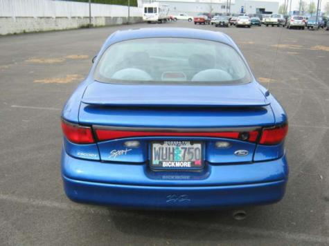 Bickmore Auto Sales >> Cheap Sporty Coupe Under $1500 - Ford ZX2 '99 For Sale In ...