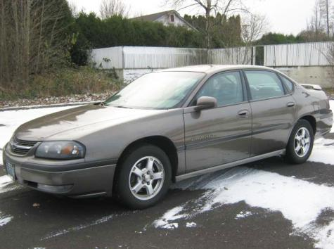 2003 Chevy Impala Ls Used Car 1000 1500 Near Portland