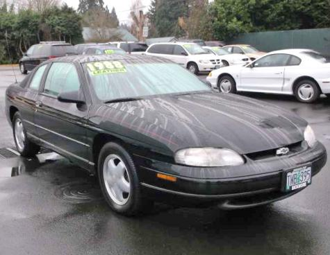 1995 Chevy Monte Carlo Z34 Nice Used Car Under 1000 In