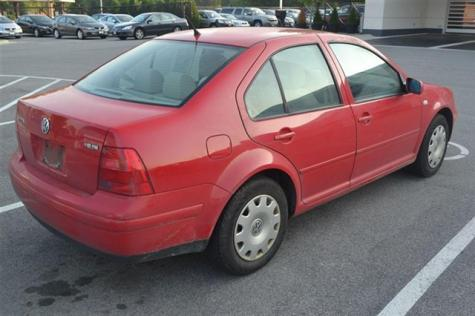 Cheap Car Under 2000 Used Vw Jetta Gls 2001 Red In