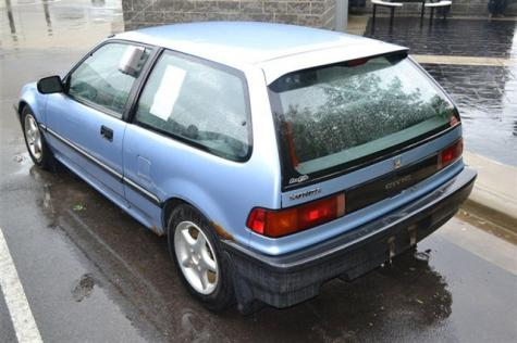 Honda Civic Hatchback 1990 For Cheap Under 3000 In Oh