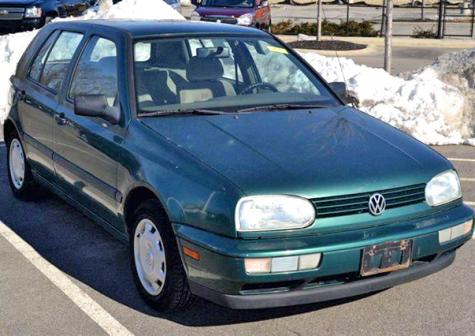 Jeep Dealers Cleveland >> Used VW Golf GL 1997 Around $1000 near Cleveland, OH ...