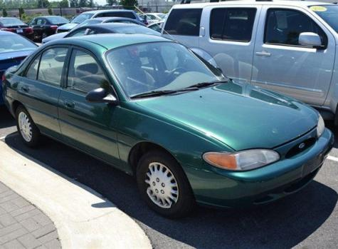 Cheap Used Car For 500 Only Ford Escort Se For Sale In Ohio
