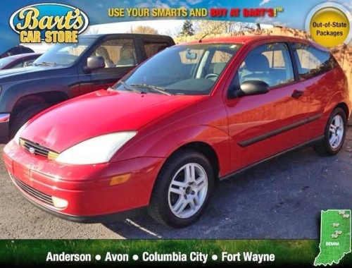 Fort Wayne Acura >> Cheap Used Car Fort Wayne IN Under $2k (Ford Focus ZX3 '00 ...