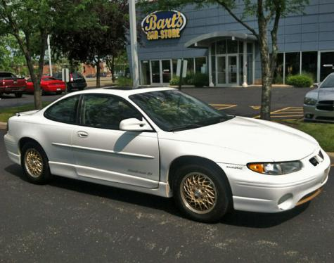 Cheap 1000 Dollars Car Pontiac Grand Prix Gt Coupe 1998