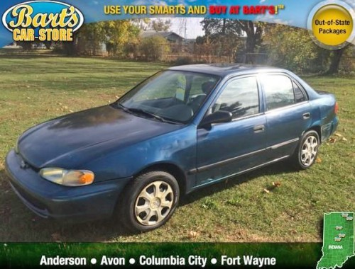 Cheap Used Car Under 1000 Fort Wayne In Chevy Prizm 2000
