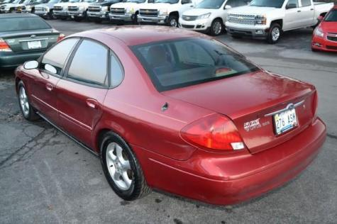 Photo #10: sedan: 2001 Ford Taurus (Burgundy)