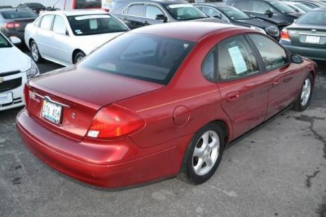 Photo #11: sedan: 2001 Ford Taurus (Burgundy)