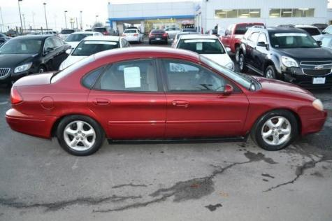 Photo #12: sedan: 2001 Ford Taurus (Burgundy)