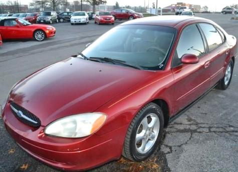 Photo #1: sedan: 2001 Ford Taurus (Burgundy)