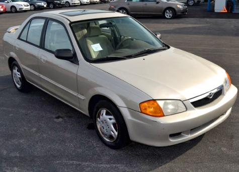 Car For Sale Under $1000 - Used Mazda Protege LX '99 in Kentucky - Autopten.com