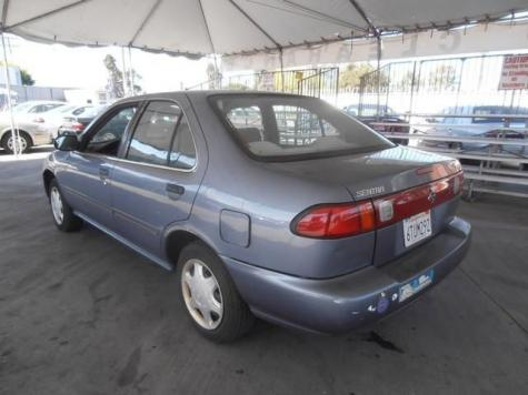 Photo #5: sedan: 1998 Nissan Sentra (Blue)