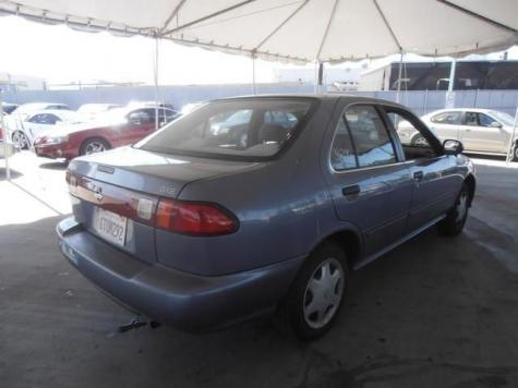 Photo #6: sedan: 1998 Nissan Sentra (Blue)