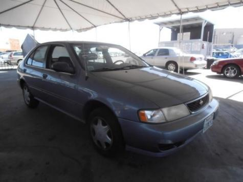 Photo #7: sedan: 1998 Nissan Sentra (Blue)