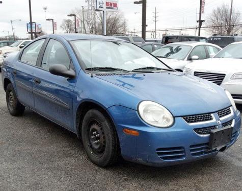 Used Cars Under 10000 >> Good Car For Sale $1000 Chicago, IL - 2004 Dodge Neon SE ...