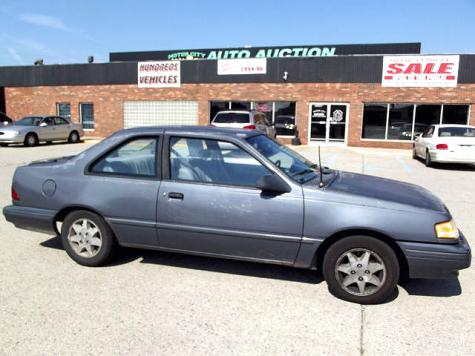 Cheap Car 1000 Or Less In Mi Mercury Topaz Gs 1993 Low Miles Autopten Com