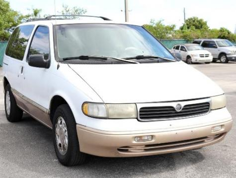 Used Cars Under 8000 >> Used Minivan Under $1000 in Miami, FL - 1997 Mercury Villager LS - Autopten.com