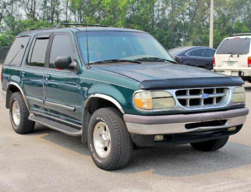 Used Cars For Sale Under 5000 >> Ford Explorer XLT 1996 - Cheap SUV Under $1000 Miami FL ...