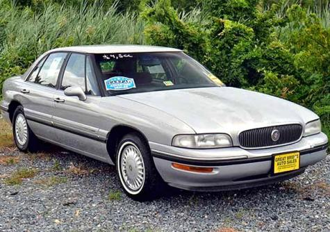 used car under 1000 in va buick lesabre custom 1998 sedan. Black Bedroom Furniture Sets. Home Design Ideas