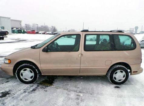 Used Mercury Villager 1997 - Minivan Under $1500 in OH ...