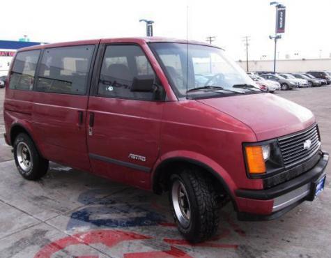 1986 Chevrolet Astro Dirt Cheap Van Under 1000 In Slc