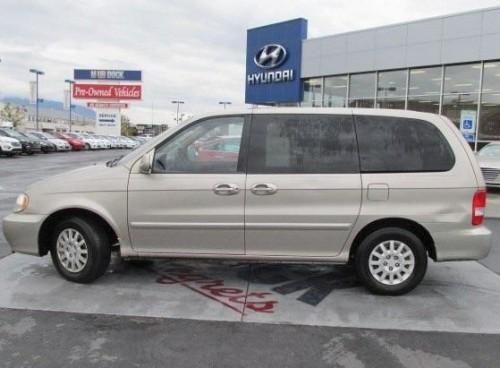 Used Minivan Under 700 1000 Slc Ut Kia Sedona Lx 03