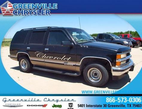 Dodge Dealers Denver >> Used SUV in TX Under $2000 - Chevrolet Tahoe 1998 near ...