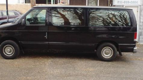 Photo #2: conversion van: 1997 Ford Club Wagon (grey)