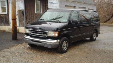 Photo #3: conversion van: 1997 Ford Club Wagon (grey)