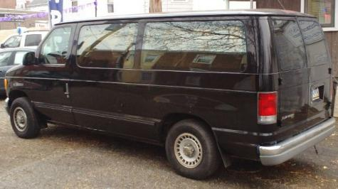 Photo #6: conversion van: 1997 Ford Club Wagon (grey)