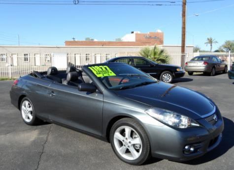 used toyota solara convertible sle 2007 under 12000 in arizona. Black Bedroom Furniture Sets. Home Design Ideas