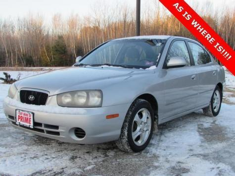 Used Suvs Near Me >> 2002 Hyundai Elantra GLS - Economy Used Car Under $1000 in ME - Autopten.com