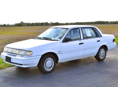 Good Used Car Under $1000 - 1994 Mercury Topaz GS in ...
