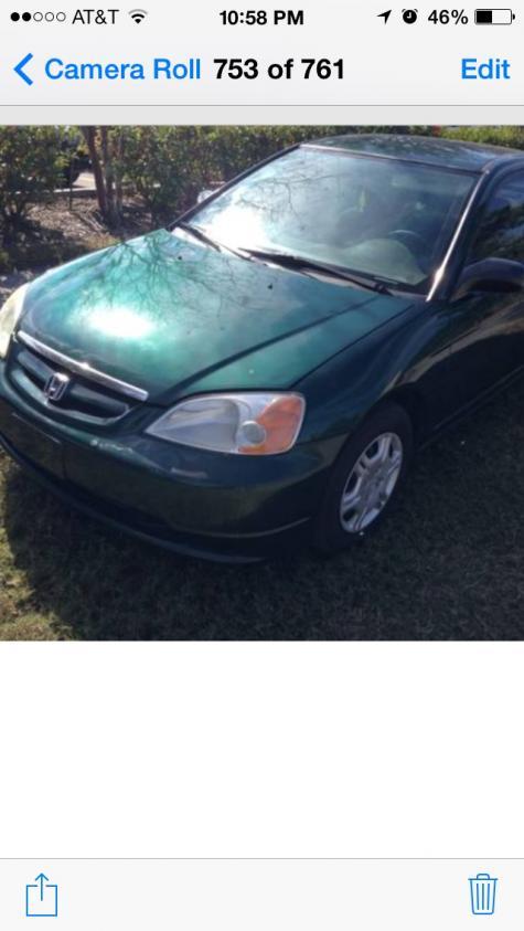 Used 2001 Honda Civic LX Coupe Under $3000 in Orlando, FL ...