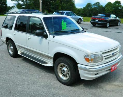 Local Dodge Dealers >> Used Ford Explorer Limited 1998 SUV Under $1000 in Maine ...