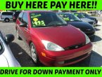 2002 Ford Focus (red)