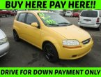 2005 Chevrolet Aveo (Yellow)