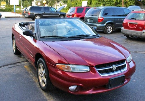 Volvo Dealers Nh >> Convertible Under $1500 in NH: Chrysler Sebring JXi '98 in Hooksett - Autopten.com