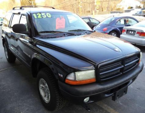 used dodge durango slt 1999 suv under 1k near manchester nh. Black Bedroom Furniture Sets. Home Design Ideas
