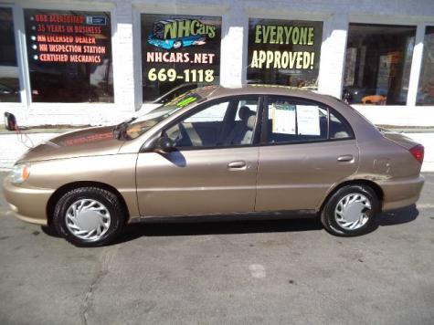 Cheap Small Car For Sale in NH $500 or Less (2001 KIA Rio ...