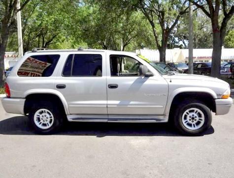 Suv For Cheap Under 1000 In Fl 2000 Dodge Durango Slt