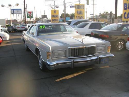 Used Cars Visalia >> Classic Car Under $1000 in CA (1977 Mercury Grand Marquis ...