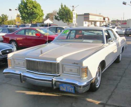 classic car under 1000 in ca 1977 mercury grand marquis. Black Bedroom Furniture Sets. Home Design Ideas