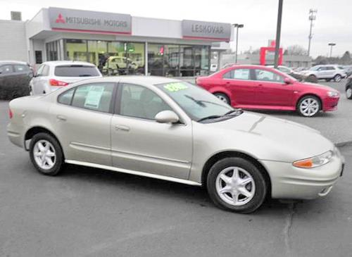 Cheap Nice Car Wa 1000 1500 Oldsmobile Alero Gl 2001