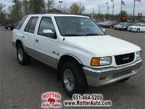 1995 Isuzu Rodeo S For Sale In Forest Lake Mn Under 3000