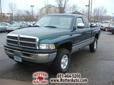 Used 1997 Dodge Ram Club Cab Truck For Sale In Mn