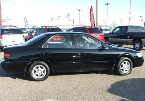 used 1997 toyota camry le sedan for sale in mn. Black Bedroom Furniture Sets. Home Design Ideas